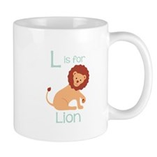 L Is For Lion Mugs