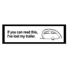 Lost Trailer Bumper Bumper Stickers