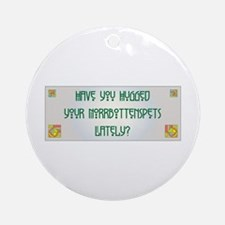 Hugged Norrbottenspets Ornament (Round)
