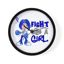 Fight Like a Girl 42.8 Dysautonomia Wall Clock