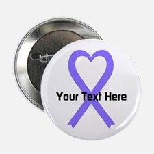 "Personalized Lavender Ribbo 2.25"" Button (10 pack)"