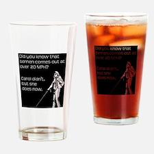 Carol and Semen Drinking Glass