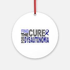 Find the Cure Dysautonomia Ornament (Round)