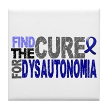 Find the Cure Dysautonomia Tile Coaster