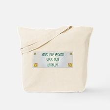 Hugged Mudi Tote Bag