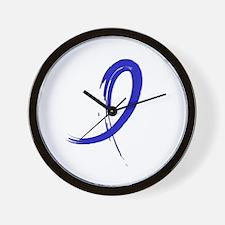Graffiti Ribbon Dysautonomia Wall Clock