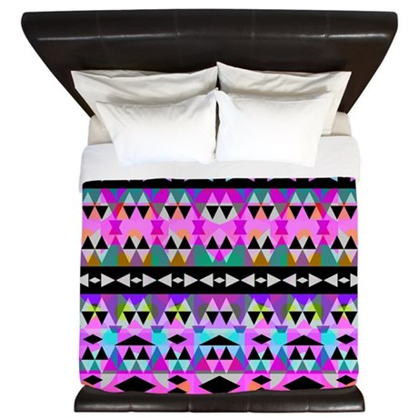 Mix #551, Tribal King Duvet