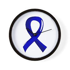Awareness Ribbon 3 Dysautonomia Wall Clock
