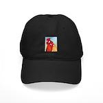 Buttercup Pair Black Cap