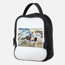 Pulled In Different Directions Neoprene Lunch Bag