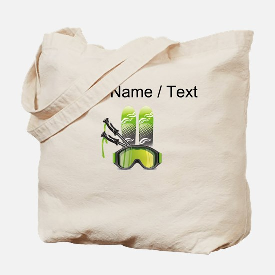 Custom Ski Gear Tote Bag