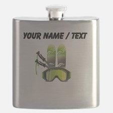 Custom Ski Gear Flask