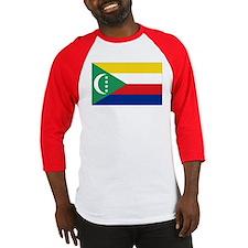 Flag Comoros Baseball Jersey