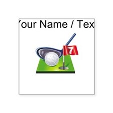Custom Golf Icon Sticker