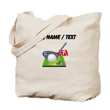 Custom Golf Icon Tote Bag