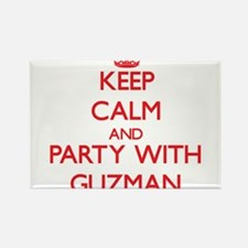 Keep calm and Party with Guzman Magnets
