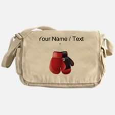 Custom Boxing Gloves Messenger Bag