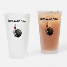 Custom Bowling Drinking Glass
