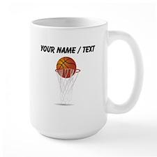 Custom Basketball Hoop Mugs