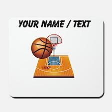 Custom Basketball Icon Mousepad