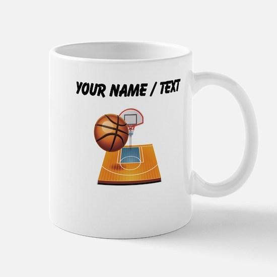 Custom Basketball Icon Mugs
