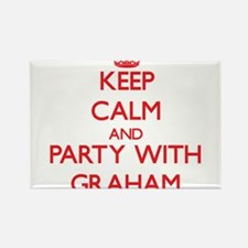 Keep calm and Party with Graham Magnets