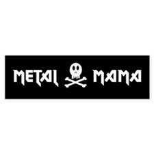 Metal Mama Bumper Car Sticker
