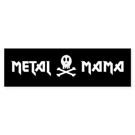 Metal Mama Bumper Sticker