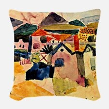 Klee - View of Saint Germain Woven Throw Pillow