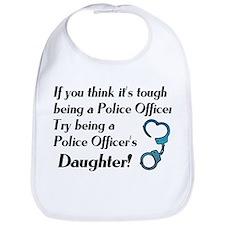Tough Police Daughter Bib