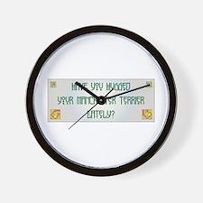 Hugged Manchester Wall Clock
