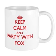 Keep calm and Party with Fox Mugs