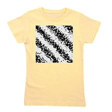 Monochrome Fashion Abstract Polka Dots  Girl's Tee