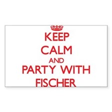 Keep calm and Party with Fischer Bumper Stickers