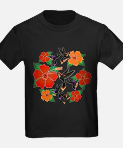 Hummingbird and Hibiscus T-Shirt