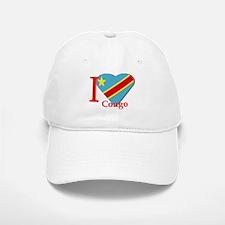 I love Congo Baseball Baseball Cap