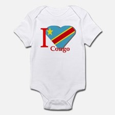 I love Congo Infant Bodysuit