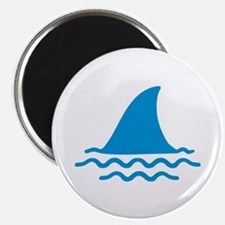 """Blue shark fin 2.25"""" Magnet (10 pack)"""