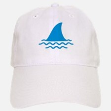 Blue shark fin Baseball Baseball Cap