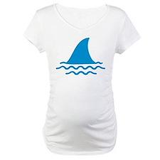 Blue shark fin Shirt