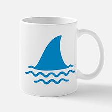 Blue shark fin Mug
