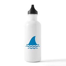 Blue shark fin Water Bottle
