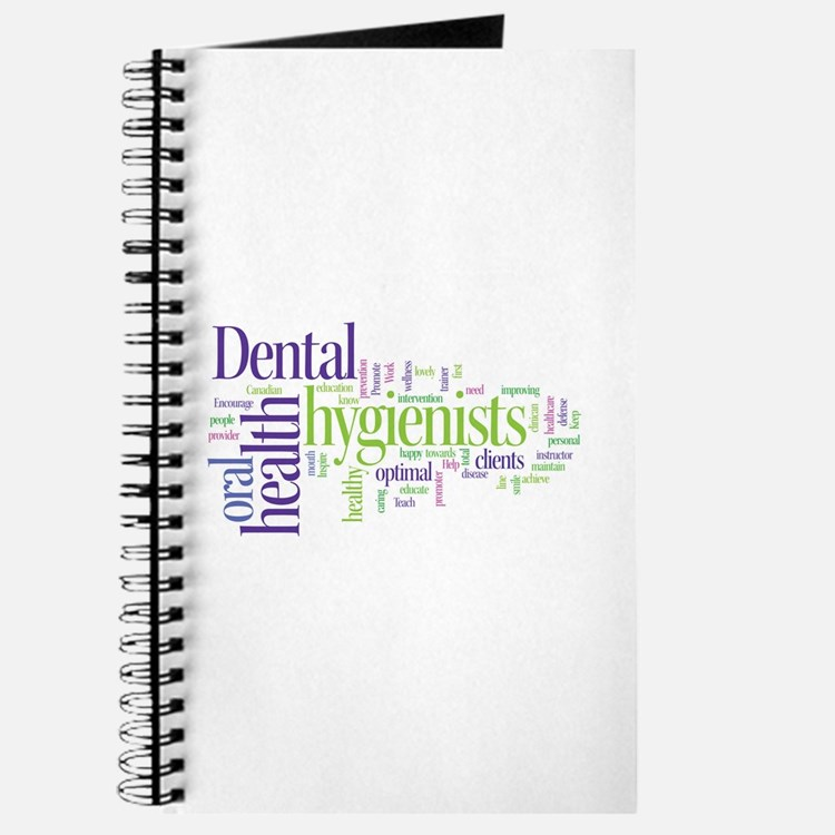 Cute Dental hygienist Journal