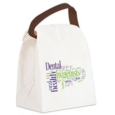 Cool Hygienist Canvas Lunch Bag