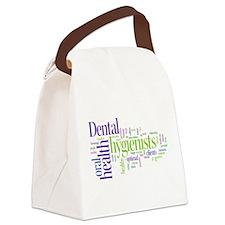 Cute Dental health Canvas Lunch Bag