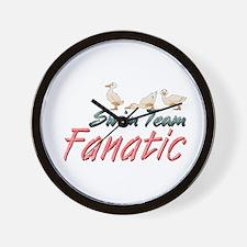 Swim Fanatic Wall Clock