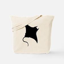 Manta Ray Tote Bag