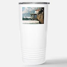 Manhattan Beach Pier  Stainless Steel Travel Mug