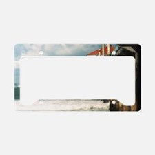 Manhattan Beach Pier  License Plate Holder