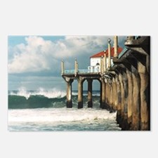 Manhattan Beach Pier  Postcards (Package of 8)